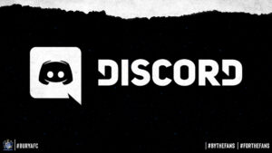 This image links to a Discord server link. It has on a Discord logo and text.